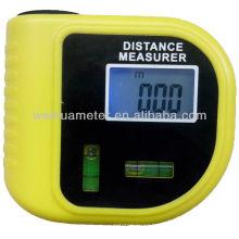 Medidor de distancia ultrasónico con medida de nivel de burbuja WH3010
