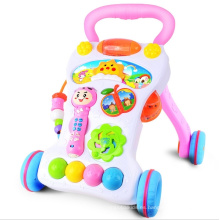 Primeros pasos Baby Walker Music and Lights Push Along Walker