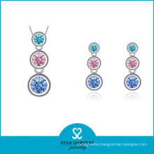 OEM Accepted Bead 925 Sterling Silver Jewelry Set Design (J-0029)