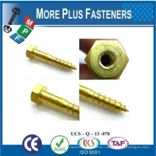 Made In Taiwan Special Fastener Parts with Different Materials Brass Titanium Bronze Copper Stainless Steel Carbon Alloy Steel