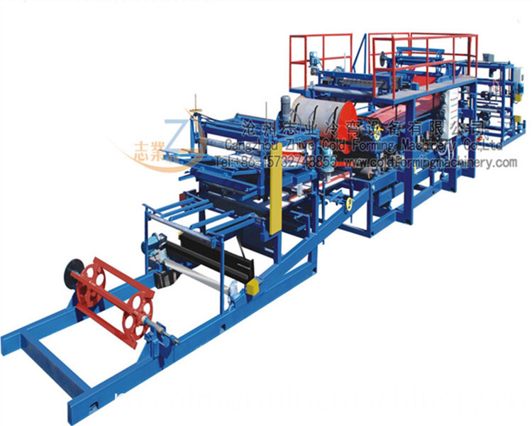 Eps Sandwich Roof Tile Cold Forming Machine