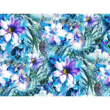 Fashion Swimwear Fabric Digital Printing Asq-052