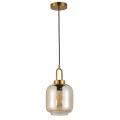 Metal glass droplight top selling design pendant lamp