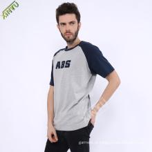 Atacado man impresso T-shirt com logotipo (XY0033)