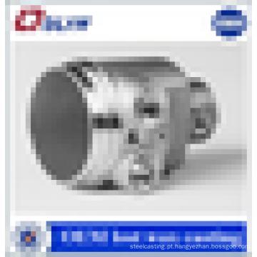 Fornecedor da China OEM aço metal válvulas partes do corpo peças de precisão