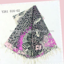 шерсть пашмины шарф/пашмины шали, поддержки малого заказа с разных цветов
