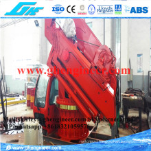 11t 15t Folding Arm Marine Deck Crane CCS ABS