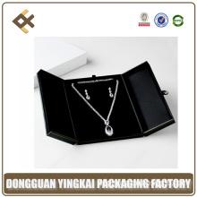 Luxury Black Suit Plastic Jewellery Necklace Box