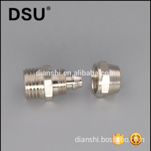 Male thread air tube coupler brass compression pneumatic fitting adapter