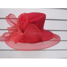 Chapeaux d'église en feutre de laine d'hiver pour femmes