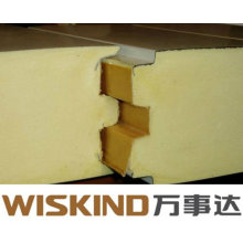 Painel de sanduíche do poliuretano do uso da sala fria e do plutônio do plutônio