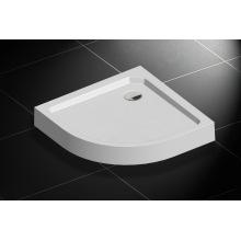 Bodenmontage runde Form SMC Duschwanne