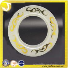 Zhejiang OEM venta caliente de oro 40mm ojales cortina de plástico