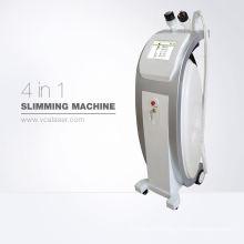 Bauchfett reduzierende Maschine Kavitation RF Lipo Kavitation abnehmen Gerät