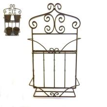 Einfache Linellae Metall Blumentopf Halter für Wand Garten Dekoration