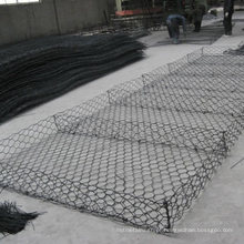 Gabião revestido de zinco