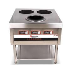 placas de cocina 3 quemadores inoxidables
