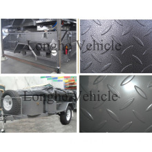 2012 Popular Powder Coated Checker Plate Travel Trailer (CPT-05)