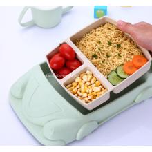 Cartoon Car Shape Tableware Set for Baby