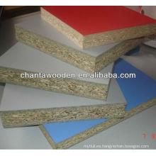 12mm / 15mm / 17mm / 18mm de madera de grano de melamina papel laminado de madera contrachapada