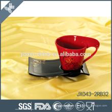 043-2BR32 180CC Keramische Kaffeetasse und Untertasse