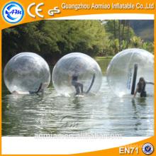 Bola de água flutuante / água jumbo bola de pé / inflável preço bola de água