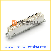 10 pair LSA telephone connection module
