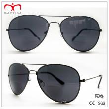 Классические и горячие бифокальные линзы с металлическими солнцезащитными очками (30037)