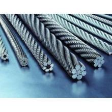 Cuerda de alambre de acero inoxidable 304 o 316