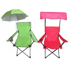 2015 novo design barato dobrável cadeira de praia com pára-sol (SP-115)