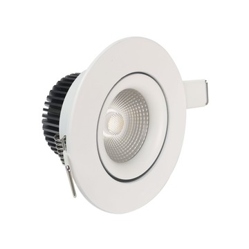 8W CCT downlight led regulable antideslumbrante