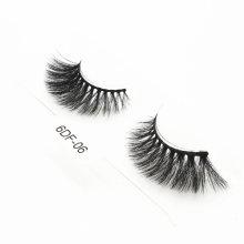 High Quality Handmade Eyelashes Custom Lash Packaging Wholesale 6D Faux Mink Strip Eyelashes
