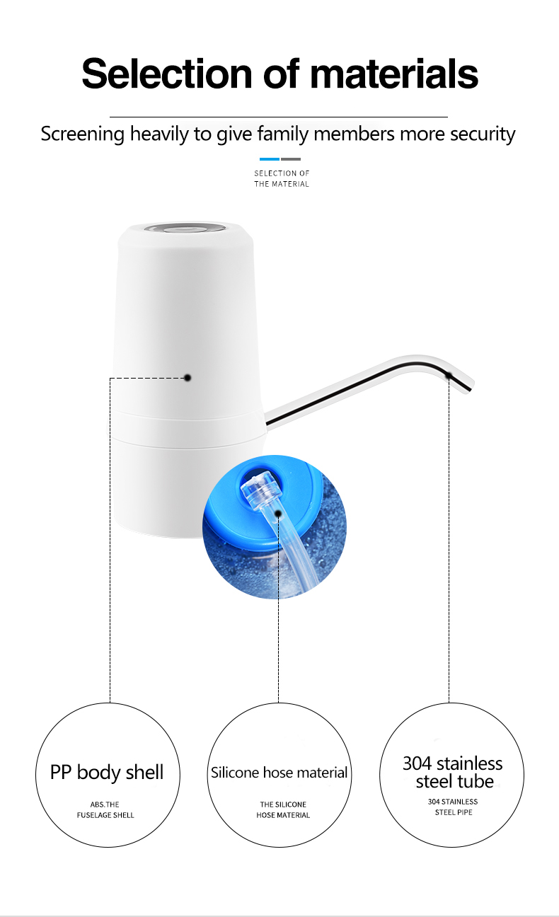 pump electric water