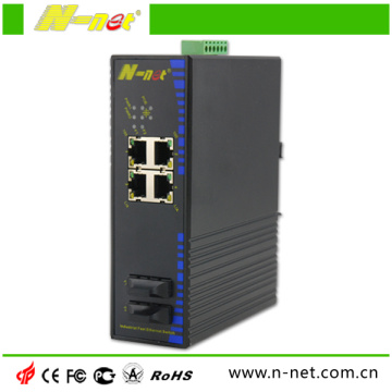 Unmanaged Industrieller 10 / 100m Ethernet Switch