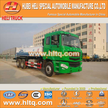 CAMC 6X4 20000L water tank truck for sale ,in China