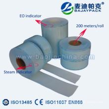 Sellado en caliente desechable Peluquería Artículos esterilización papel-carrete de plástico