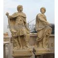 Geschnitzte Marmor Skulptur Stein Carving Statue für Garten Dekoration (SY-X1641)