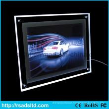 Single Sided LED Slim Crystal Light Box