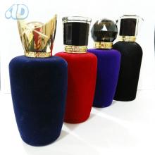 Ad-P266 Couvercle acrylique de bouteille de Velveting de parfum en verre