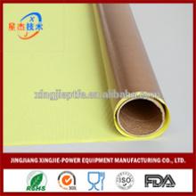 Résistance à l'eau bonne résistance à la chaleur ruban adhésif en papier PTFE