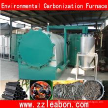 Liquid Tar Collection Air Flow Furnace Charcoal Carbonization Kiln