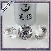 De Buena Calidad Blanco 9hearts1flower Star Cut CZ Stone