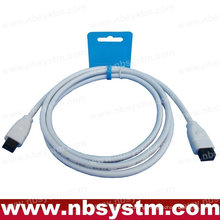 6 FT 9 to 9 PIN IEEE1394B iLINK FIREWIRE 800 CABLE