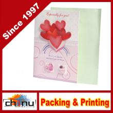 Cartão do casamento / aniversário / Natal (3312)