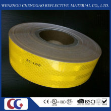 High Visibility D0t-C2 Solid Yellow Reflective Material for Vehicle