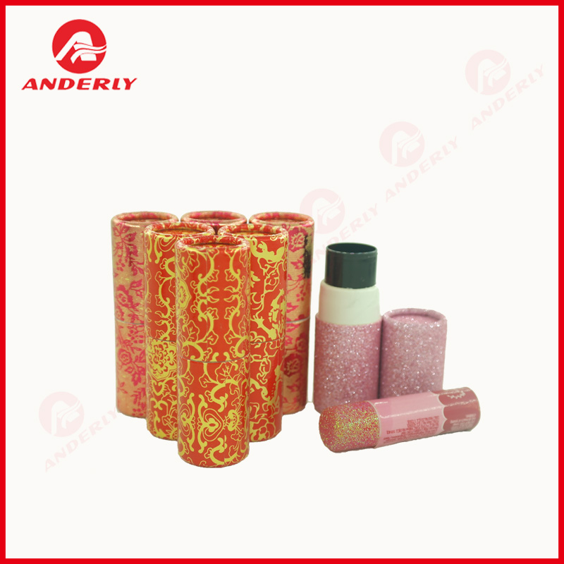 Lip Balm Round Paper Box Custom Container