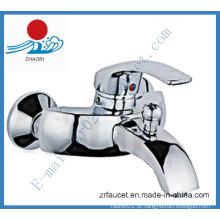 Torneira de banho-chuveiro de único punho na torneira de banheira (ZR20501)