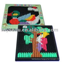 3D puzzle plastic toys