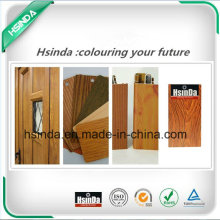 High Quality RoHS Standard Home Decoration Wood Effect Powder Coating