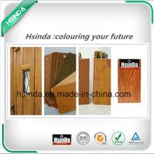 Hochwertige RoHS Standard Home Decoration Wood Effect Powder Coating